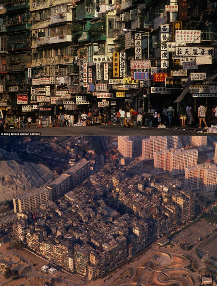 Kowloon Walled City (Daily Mail)