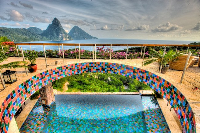 Jade Mountain. St Lucia [image source]