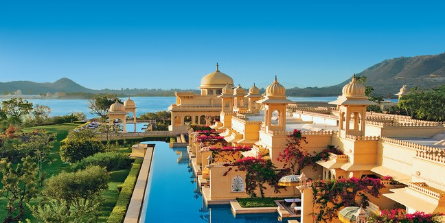 The Oberoi Udaivilas, India [image source]