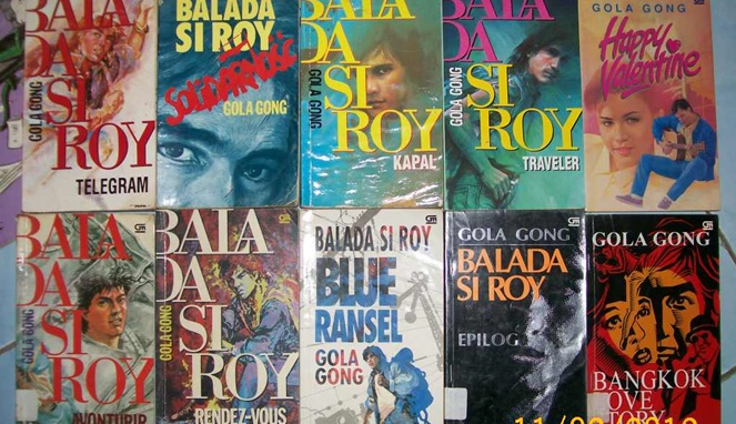 2. Novel Balada si Roy