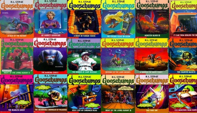 3. Deretan novel Goosebumps