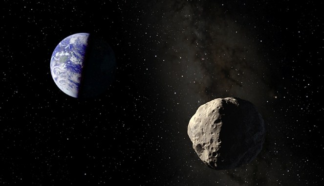 Asteroid Aphopis [Image Source]
