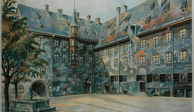The Courtyard of the Old Residency in Munich [Image Source]