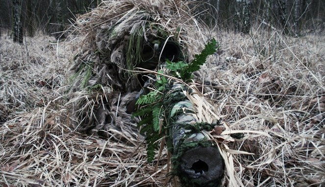Kemampuan Ghillie Suit sniper [Image Source]
