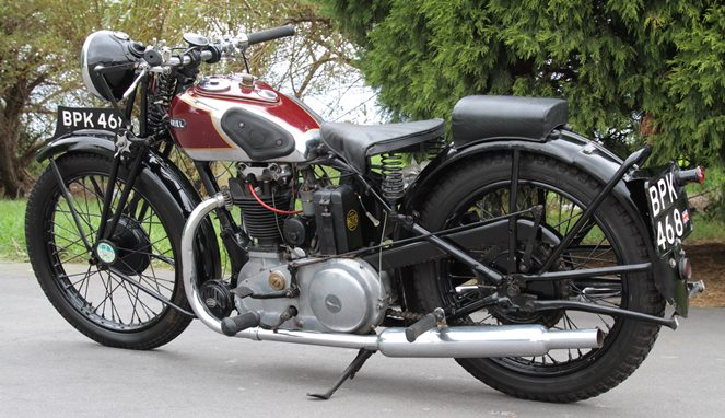Ariel Motorcycles [Image Source]